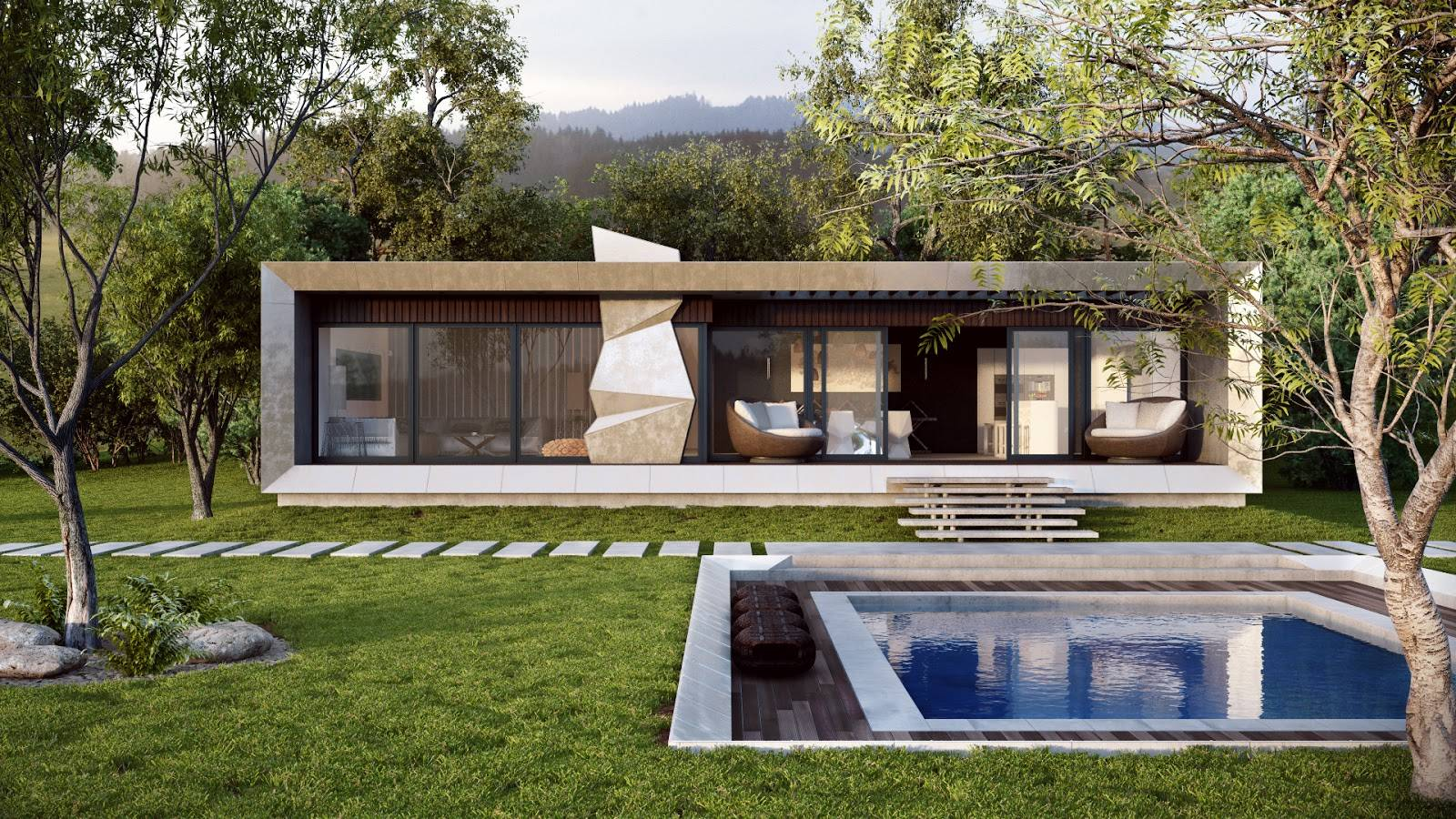 Modern Country Home Interior Design Ideas House Plans 88789