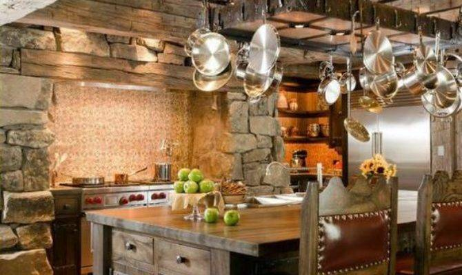 Modern Country House Kitchens Kitchen Design Rustic