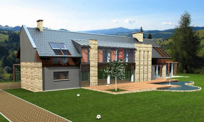 Modern Country House Model Buy