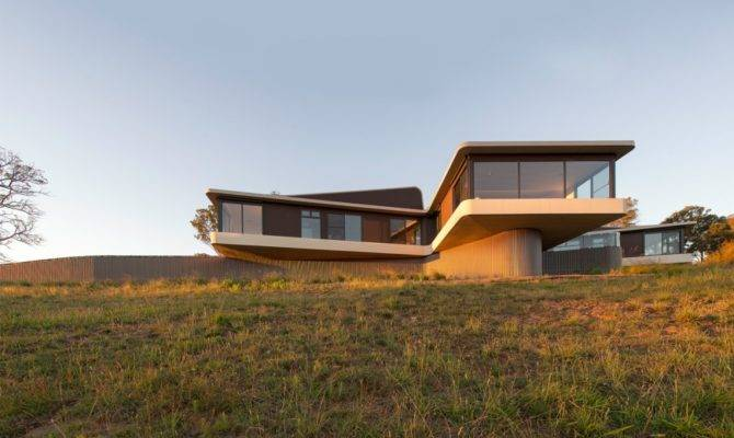 Modern Countryside House Unique Views Meadows Australia
