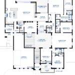 Modern Courtyard House Plan Custom Contemporary