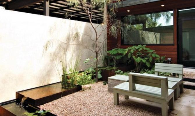 Modern Courtyard Landscape Design Make Best Possible