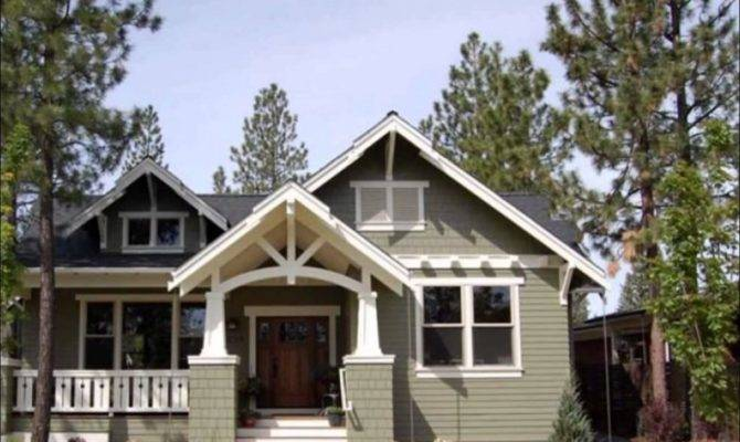 Modern Craftsman Bungalow House Plans Best