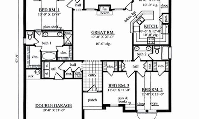 Modern Day Dogtrot House Plans