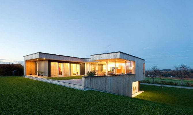 Modern Design Meets Countryside House Austria