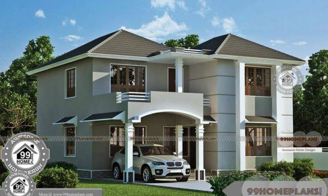 Modern Double Storey House Designs Best Story Home