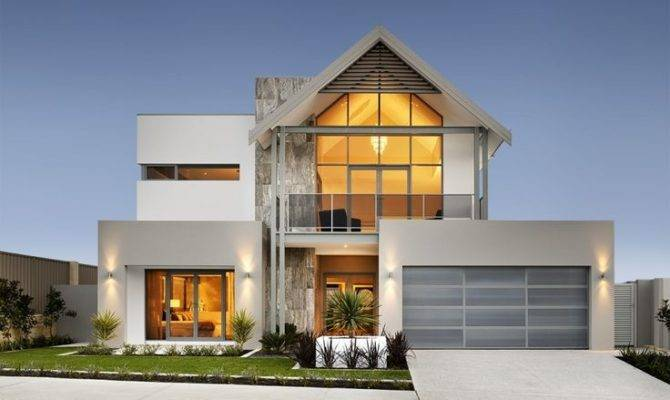Modern Double Story House Designs Storey