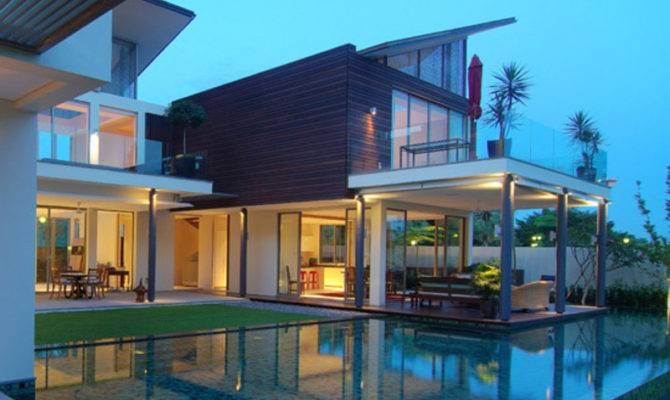 Modern Dream House Design Bookmark