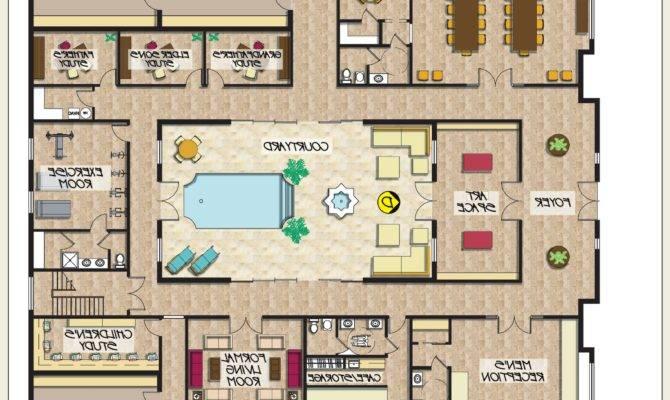 Modern Dunphy House Floor Plan