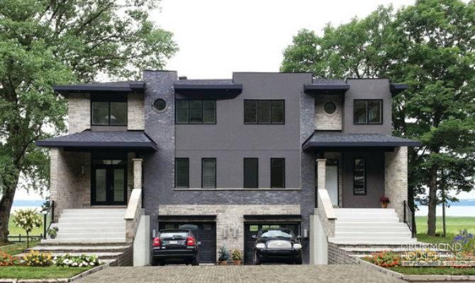Modern Duplex Builder Cutsom Home Design Drummond