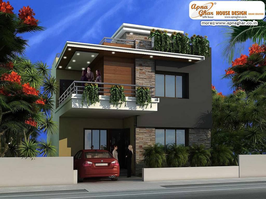Modern Duplex House Design Flickr Sharing House Plans 60855