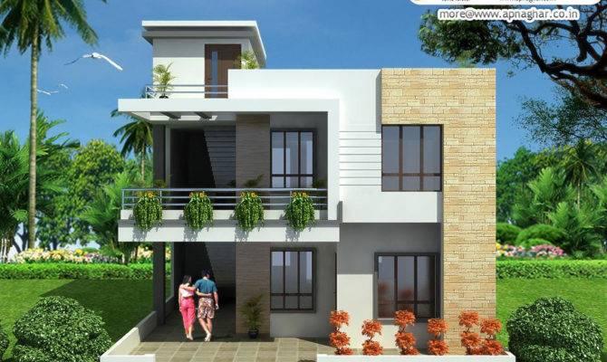 Modern Duplex House Design Like