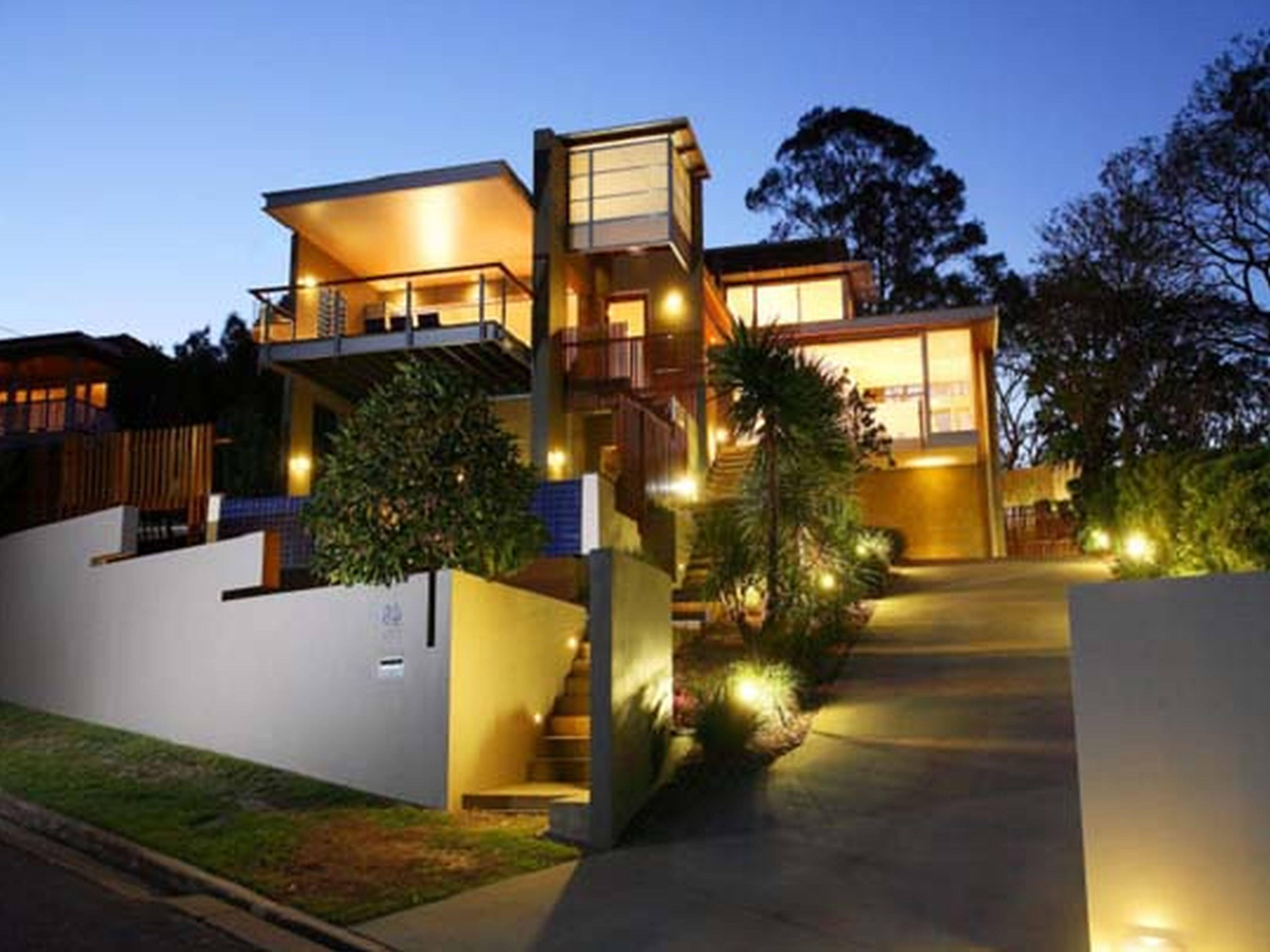 Modern Duplex House Design Philippines - House Plans   #88525