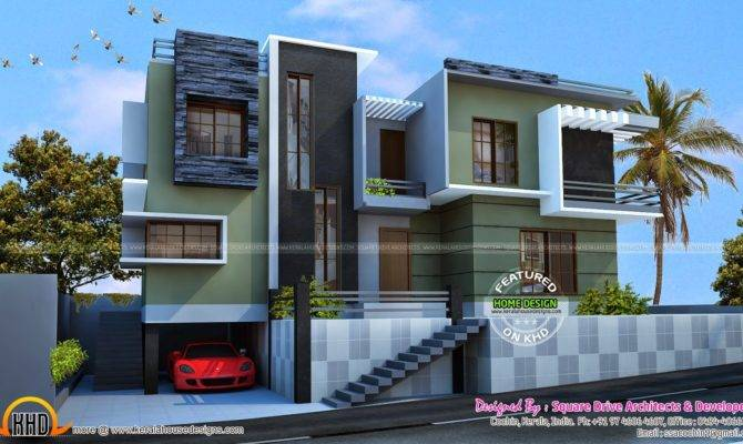 Modern Duplex House Plans Designs Photos