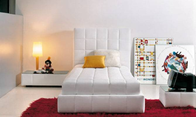 Modern Elegant Squaring Bed Design Home Interior