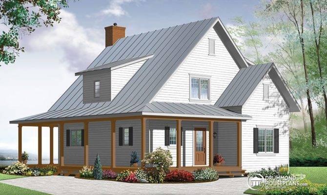 Modern Farmhouse Drummond House Plans