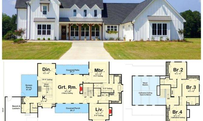 Modern Farmhouse Floor Plans Love Rooms Rent Blog