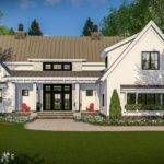Modern Farmhouse Vaulted Master Suite