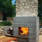 Modern Fireplaces Rustic Refined Studio Architect
