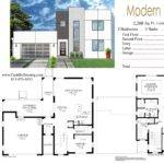 Modern Floor Plan Villa Joy Studio Design