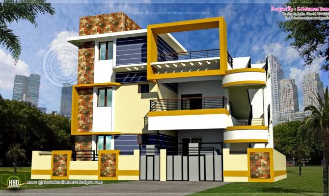 Modern Floor Tamilnadu House Design Kerala Home