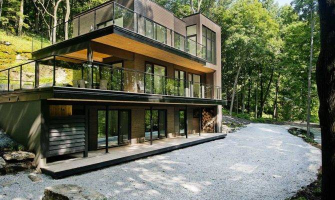 Modern Forest House Home Design