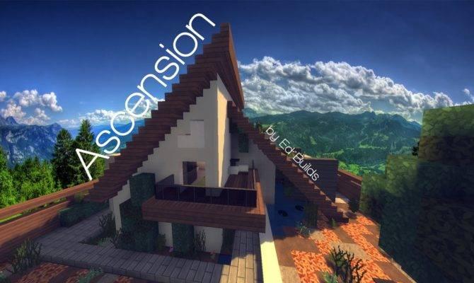 Modern Frame House Minecraft Showcase Youtube