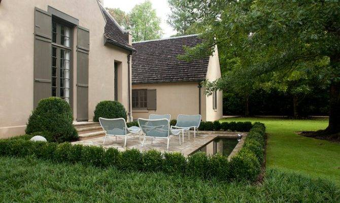 Modern French Country Traditional Patio Birmingham