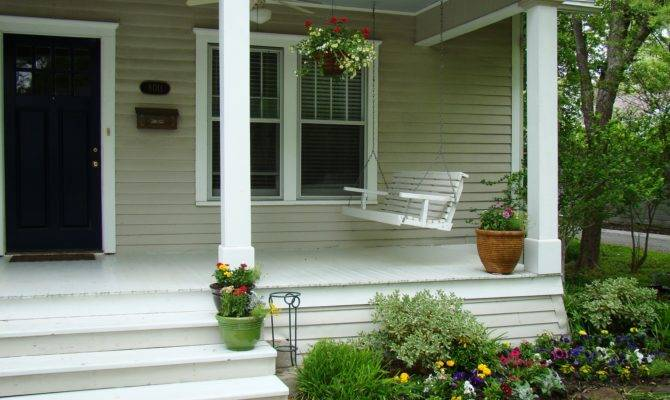 Modern Front Porch Designs