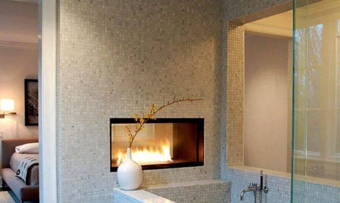 Modern Gas Fireplace Bedroom Ideas Keep Warm Tidy