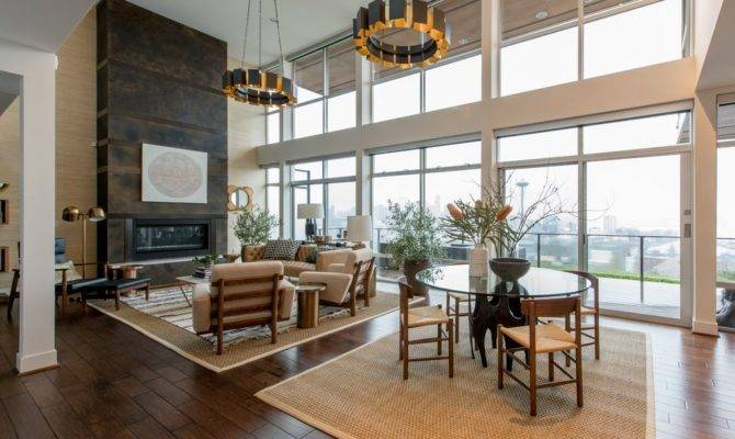 Modern Great Room High Ceiling Atg Stores Zillow