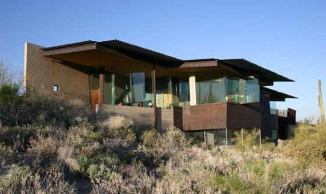 Modern Hill Home Designs Desert Homes