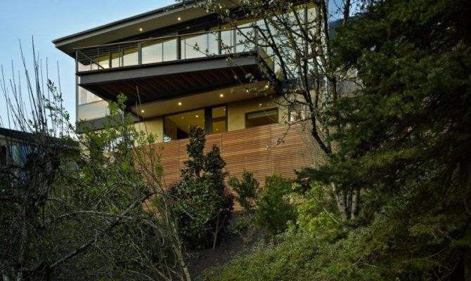 Modern Hillside Renovation Stuns Refined Interior Design
