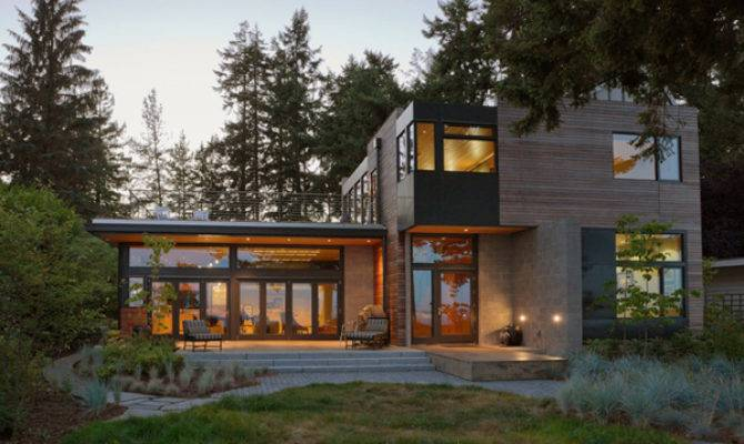 Modern Home Bainbridge Island Sustainable Features