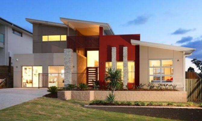 Modern Home Design Begins Lines