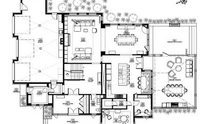 Modern Home Design Floor Plans Style House Small