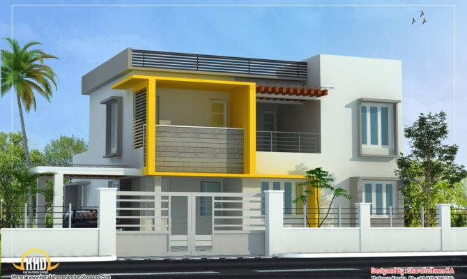 Modern Home Design Kerala Floor Plans