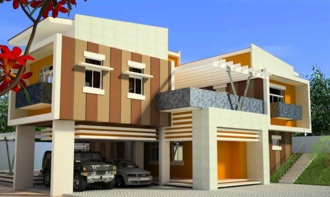Modern Home Design Philippines House Plans Designs