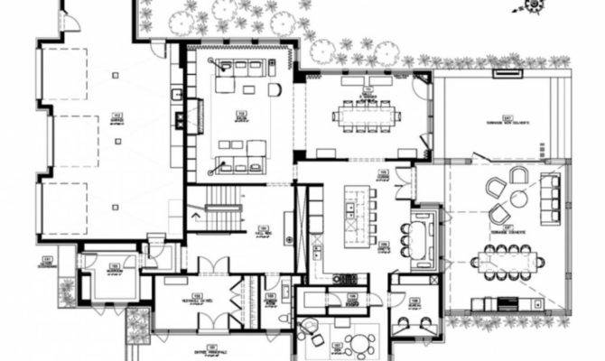 Modern Home Designs Floor Plans Custom House