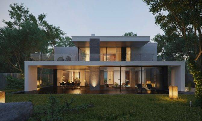 Modern Home Exteriors Stunning Outdoor Spaces