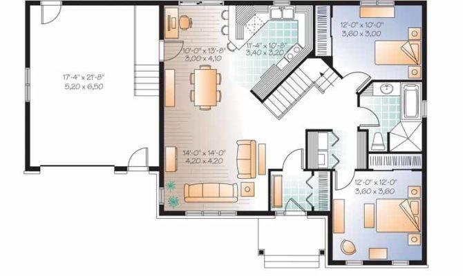 Modern Home Floor Plans Open Plan Homes House