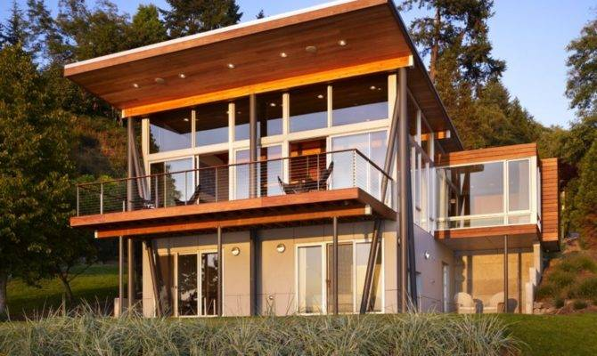 Modern Homes Designs Concepts Front Views