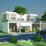 Modern Homes Exterior Designs Front Views
