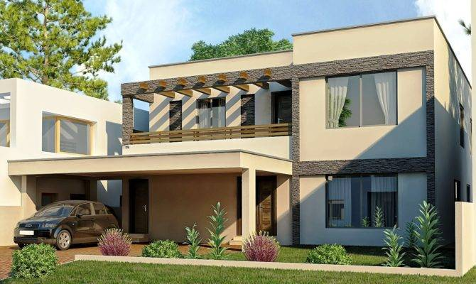 Modern Homes Exterior Designs Views Home Design