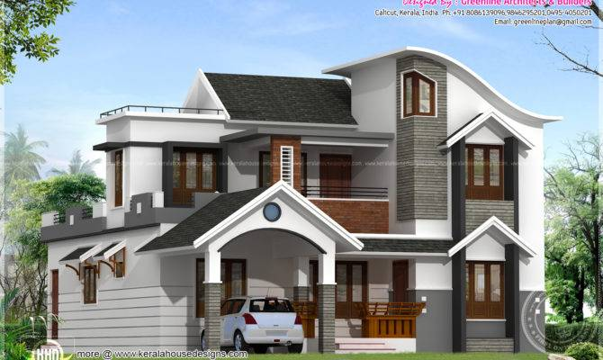 Modern House Architecture Kerala Home Design