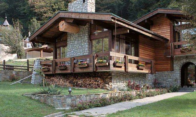 Modern House Chalet Style Ideas Design