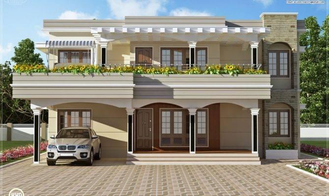 Modern House Design Room Flat Top