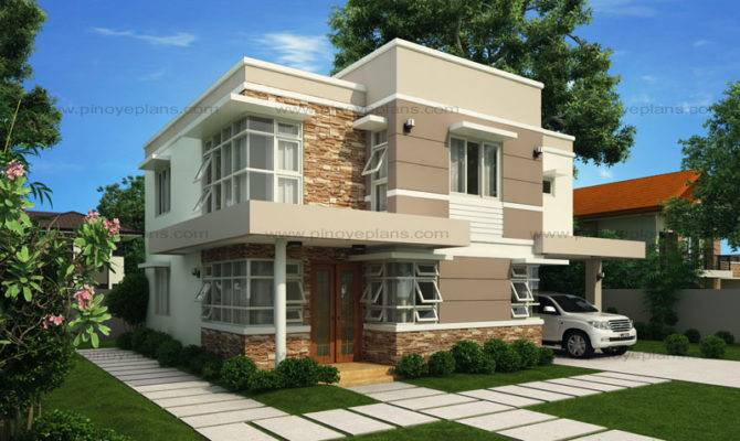 Modern House Design Series Mhd Pinoy Eplans