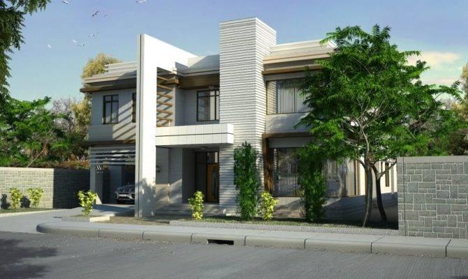 Modern House Designs Two Storey