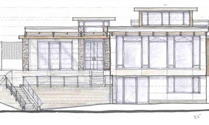 Modern House Drawings Sketch